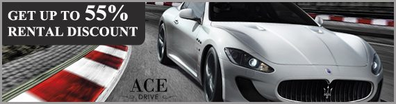 Luxe Car Rental Promotions by Ace Drive