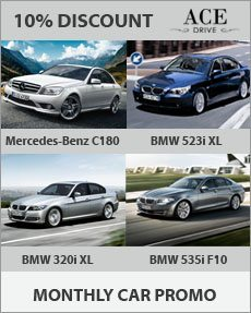 Monthly Car Promo