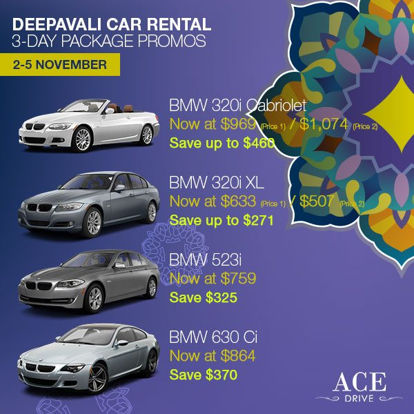 Category 2 3-Day Package - 2013 Deepavali Package