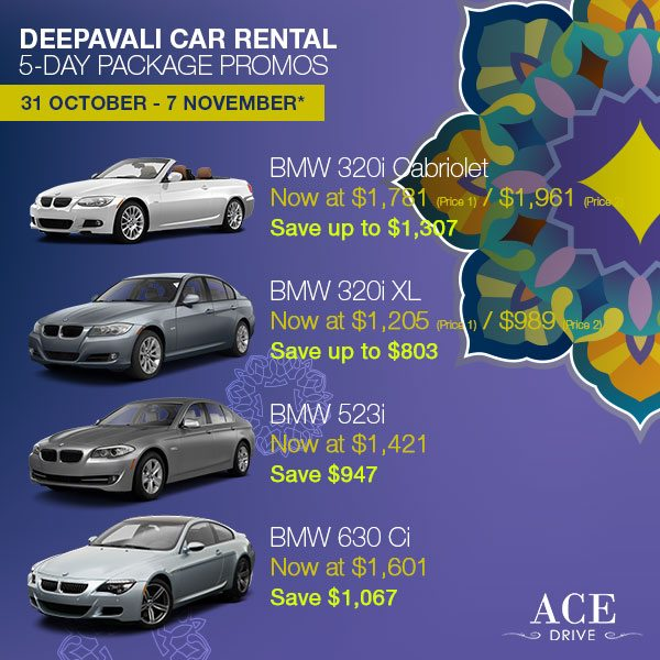 Category 2 5-Day Package - 2013 Deepavali Package