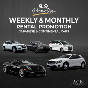 9.9 Promotion: Weekly & Monthly Car Rental Promotions